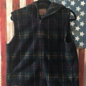 RL Ralph Lauren plaid vest